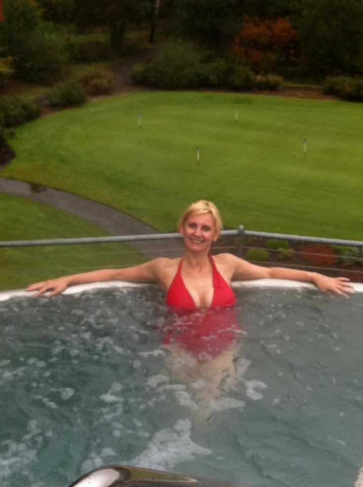 Clarabelle, Rooftop Jacuzzi Pool, Carrick Spa, Loch Lomond