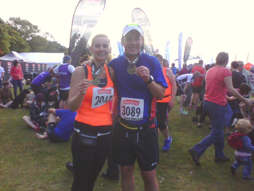 Medals, Loch Ness Marathon 2013