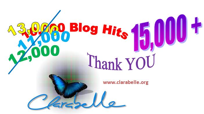 Clarabelle Blog Stats