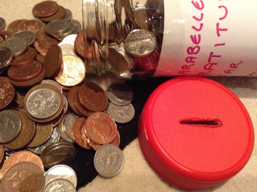 Gratitude Penny Jar