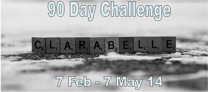 Clarabelle 90 Day Challenge