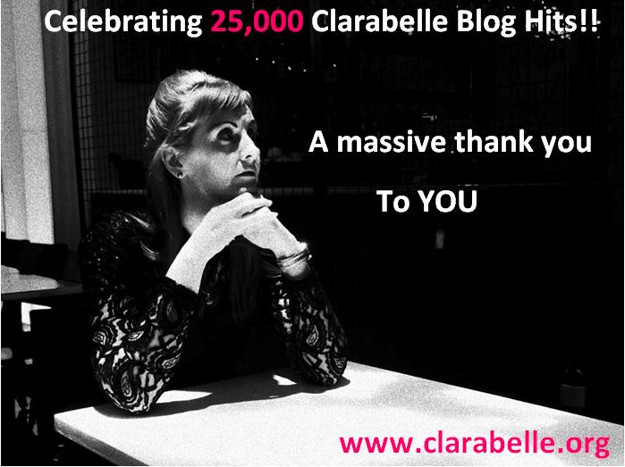 clarabelle blog hits 25000