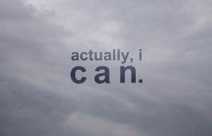 I can do attitude