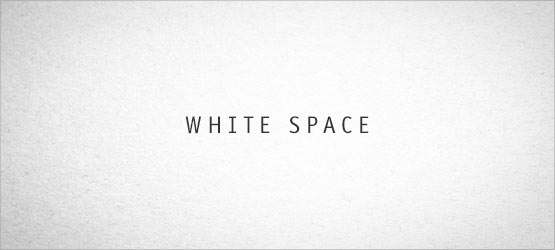 white space poetry