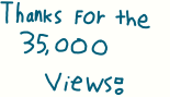 35000 blog views