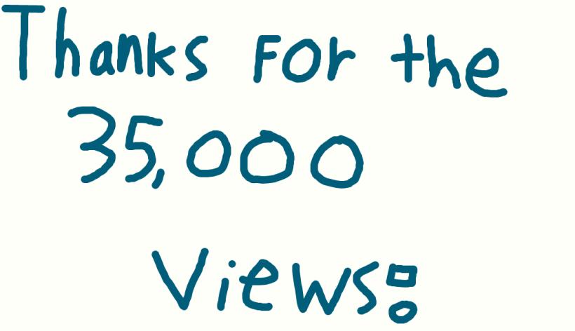 35000 blog views