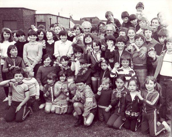 Carfin Village Gala Week, June 1981