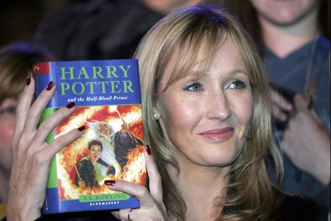 J K Rowling writer Harry Potter