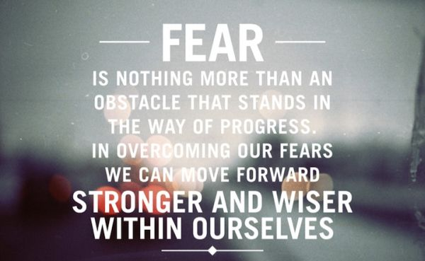 fear obstacles