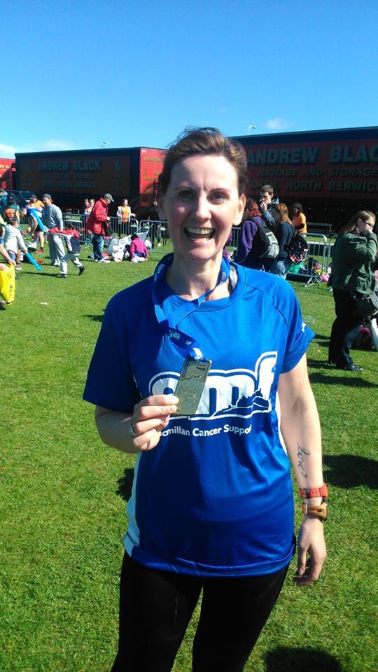Claire Edinburgh Marathon 2015