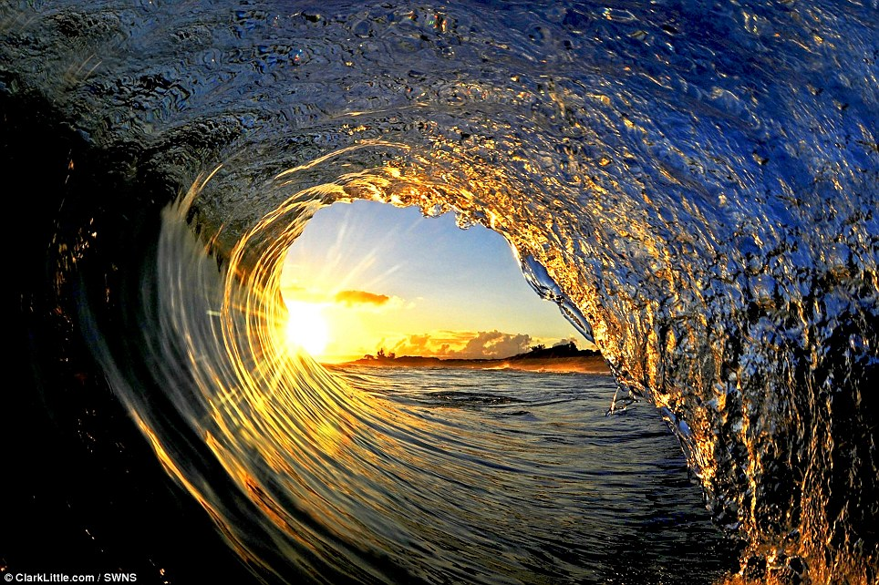 tunnel wave images