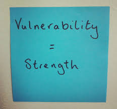 vulnerability is a strength