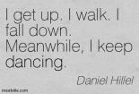 keep dancing poetry