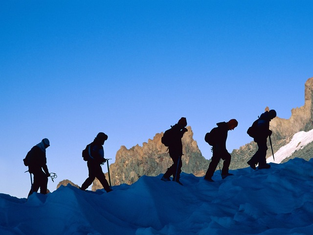 mountain climbing images
