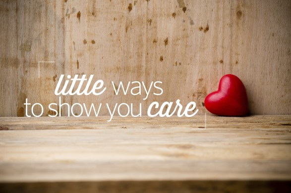 show you care