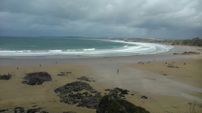 Towan Beach Newquay Cornwall