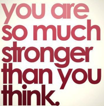 stronger than you think