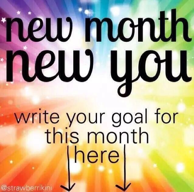 new month new you images