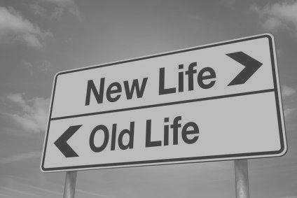 new life old life